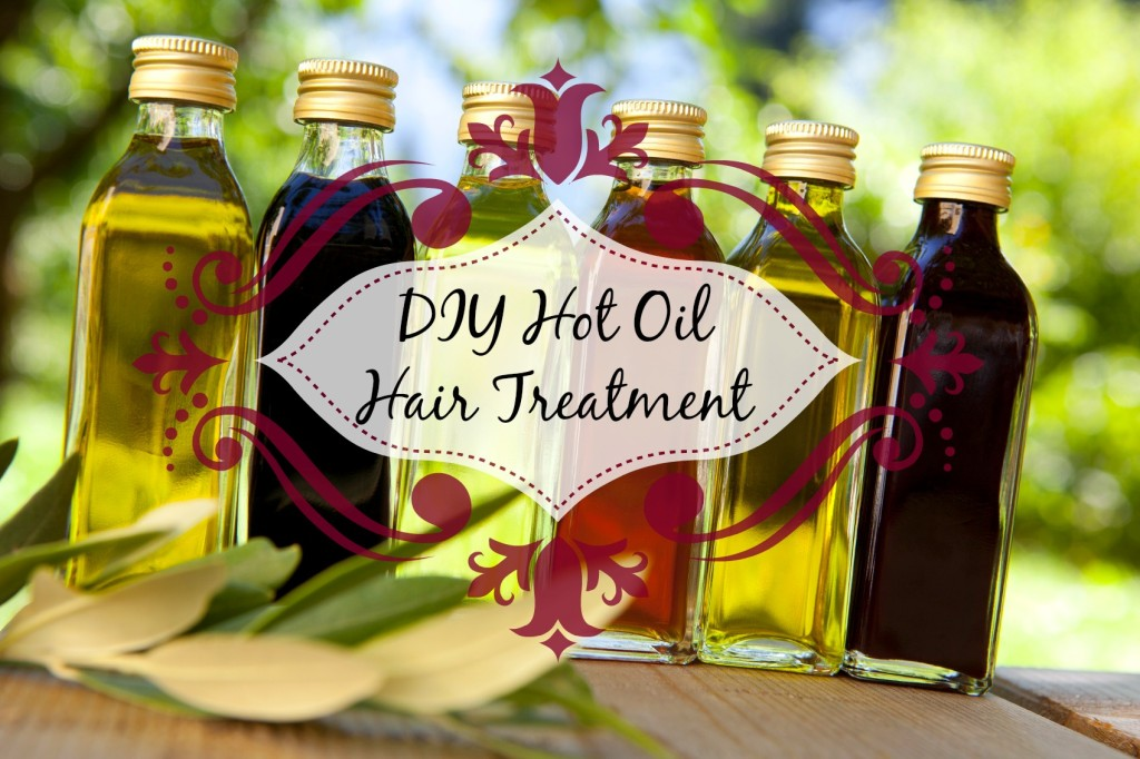 DIY Hot Oil Hair Treatment