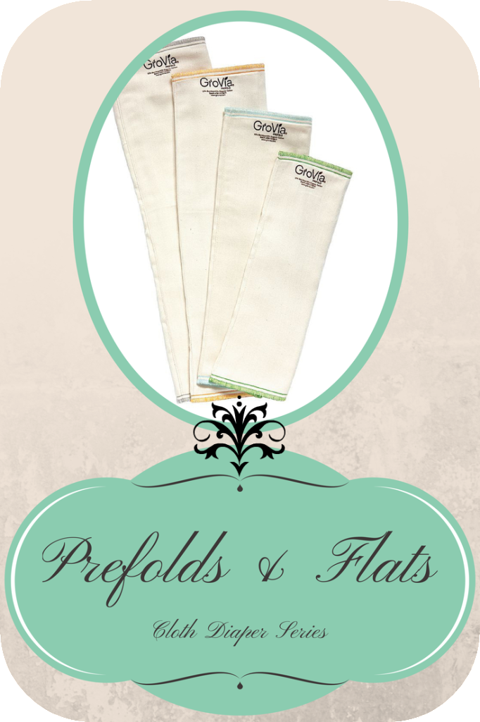 Cloth Diaper Series: Prefolds and Flats