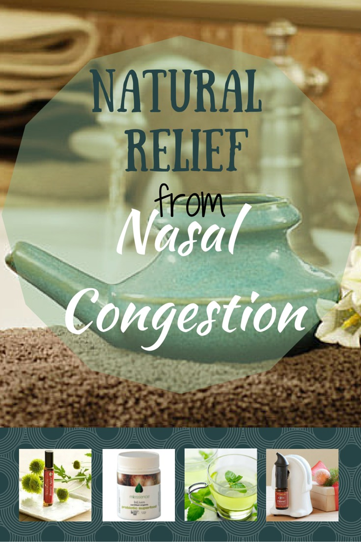 Natural Relief for Nasal Congestion| http://2momsnaturalskincare.com/