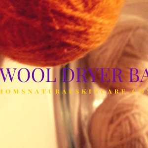DIY Wool Dryer Balls |http://2momsnaturalskincare.com/