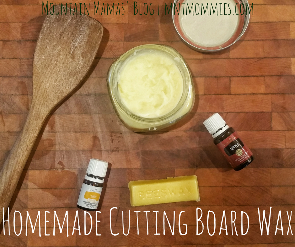 DIY Cutting Board and Wood Utensil Oil/Wax Recipe | Mountain Mamas' Blog | mntmommies.com