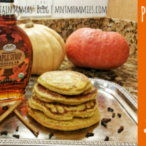 Pumpkin Oat Pancakes & Oat Flour Recipe | Mountain Mamas' Blog | mntmommies.com