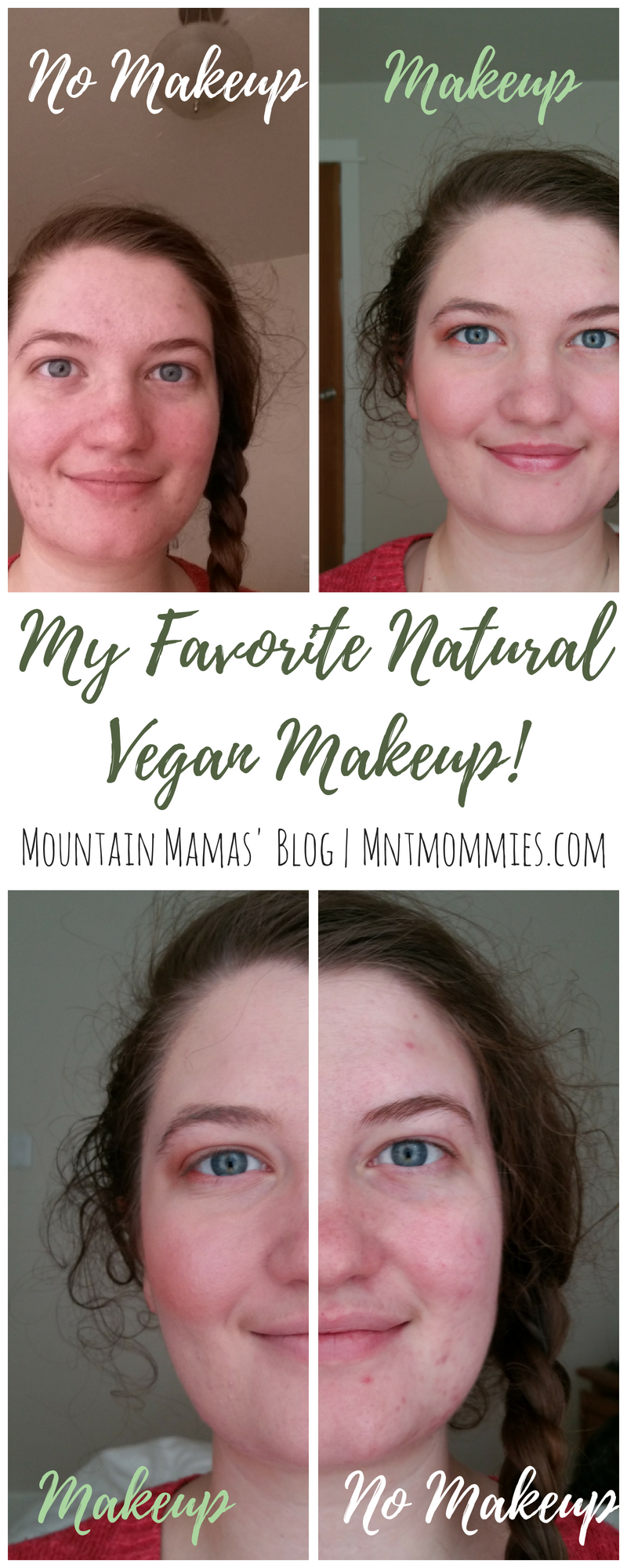 My favorite non-toxic, natural, vegan, makeup. |Mountain Mamas' Blog | mntmommies.com